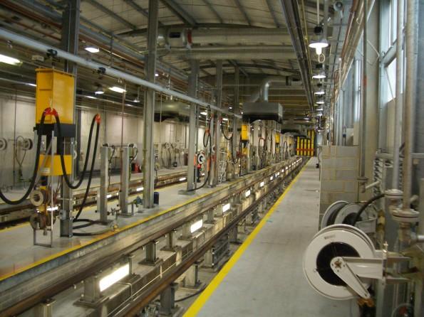 Macnaughton light maintenance depot at wembley